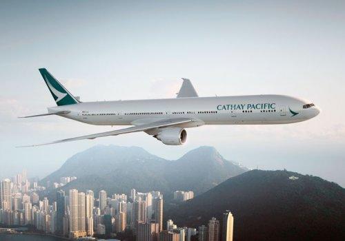 Mit Cathay Pacific nach Hongkong