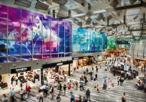 Flughafen Singapore