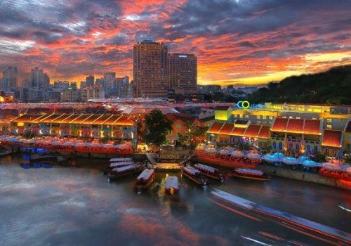 Kostenlose Singapore-Tour vom Flughafen